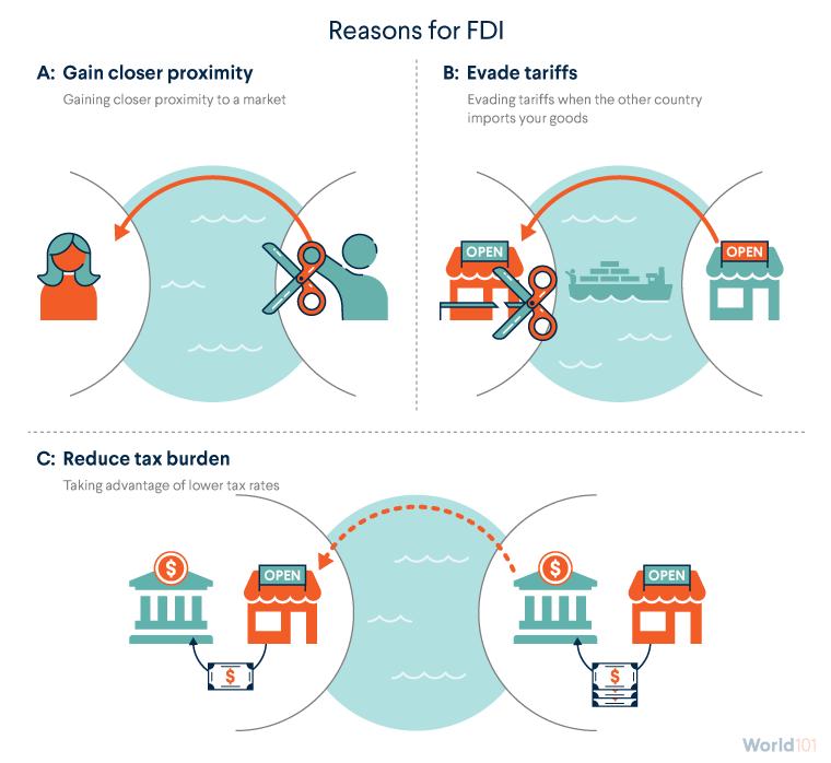 Reasons for FDI